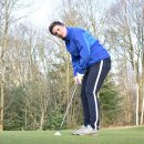 Golfpro Tineke van der Wal